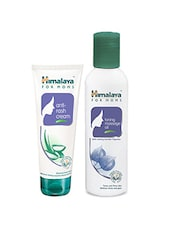 Himalaya For MoMs Anti-rash Cream 50 G And Toning Massage Oil 200ml - By