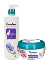 Himalaya For MoMs Tonning Massage Oil 500 Ml And Soothing Body Butter 50 Ml - By