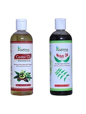 Combo Of Neem Oil And Castor Oil (Each 200 Ml) - By