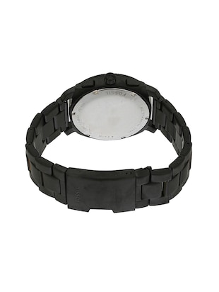 FOSSIL Black Dial Watch For Men - FS4682 - 13759582 - Standard Image - 3