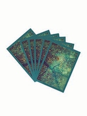 Printed Cotton Table Mat Set Of 6 Pcs - By