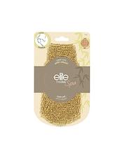 Elite Models Spa Jute Glove For Smoothing / Loofah For Men And Women - By