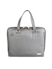 grey leatherette laptop bag -  online shopping for Laptop bags