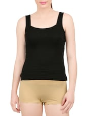 black cotton camisole -  online shopping for Camisoles