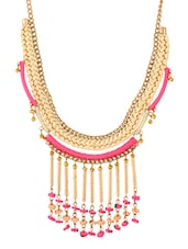 Multi Metal Short Necklace - By