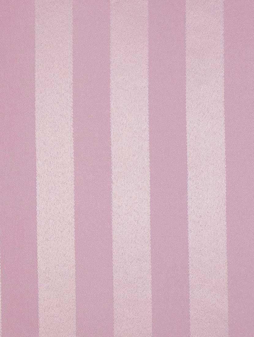 Lushomes Thick Striped Prism Pink Water Repellent Shower Curtain