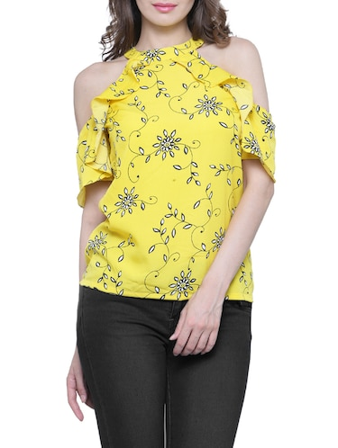 fcd0420b Buy Yellow Color Tops For Women Western Wear In India @ Limeroad