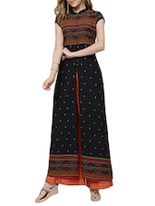 black long kurta -  online shopping for kurtas