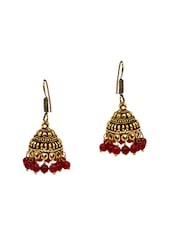 red metal other earring -  online shopping for earrings