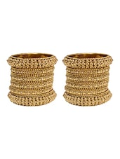gold brass bangle -  online shopping for Bangles
