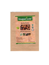 Shagun Gold 100% Natural Aritha Powder For Silky Smooth Hairs Naturally (250Gm) - By