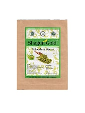 Shagun Gold Natural Colourless Henna Hair Color Pack Of 4 100Gms - By