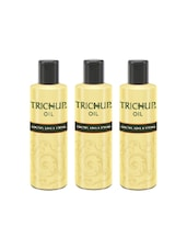 Trichup Healthy Long And Strong Hair Oil 200 Ml, (Pack Of 3) - By