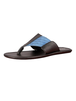 e415fb44475 Buy Blue Leatherette Toe Separator Slipper for Men from Fausto for ₹728 at  27% off