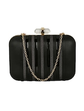 black metal box clutch -  online shopping for clutches