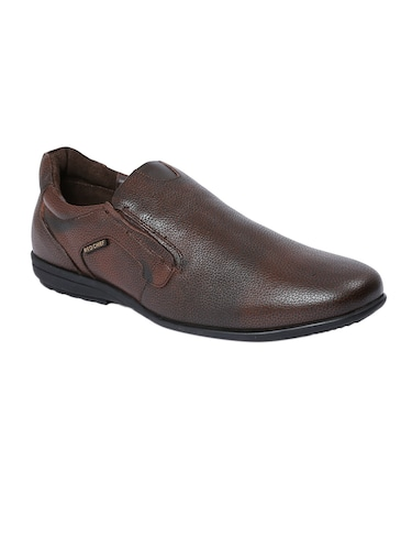221b0e2372 Buy Brown Leather Formal Slip On for Men from Liberty Shoes for ₹3318 at  17% off