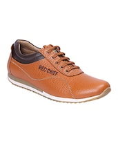 tan Leather lace up shoe -  online shopping for Shoes