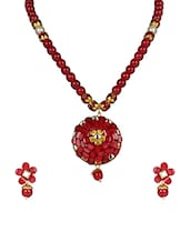 Red Gold Plated Other Necklace - By