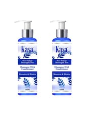KASA Shampoo With Conditioner Hair Follicle Strength Pro[ With Keratin & Biotin] 200 Ml Pack Of 2 - By