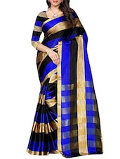 multicolour cotton silk woven saree -  online shopping for Sarees