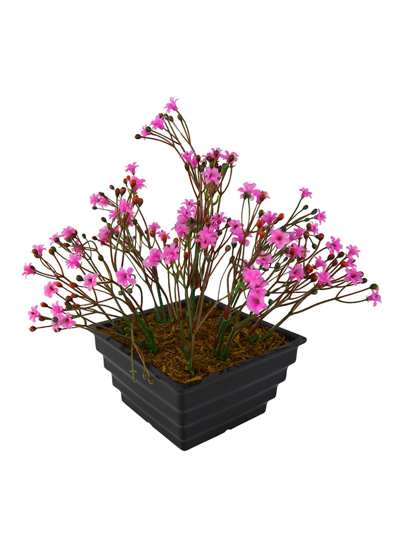 Buy Artificial Flower Mini Jasmine Bush With Square Pot By The Fancy