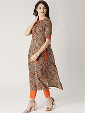 multi rayon straight kurta -  online shopping for kurtas