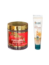 Pink Root Pomegranate Butter Cream (100gm) With Himalaya Clarifying Fairness Face Wash (100ml) Pack Of 2 - By