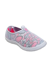 grey mesh slip on casual shoes -  online shopping for Casual Shoes