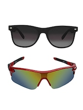 Zyaden Combo of Sport Sunglasses-Pack of 2 -  online shopping for Men Sunglasses