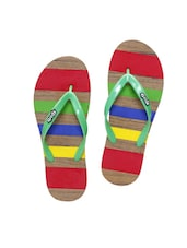 multi colored toe separator  flip flop -  online shopping for Flip flops