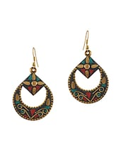 gold metal other earring -  online shopping for Earrings