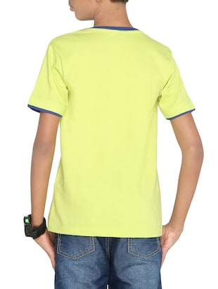 yellow cotton t-shirt - 14387487 - Standard Image - 3