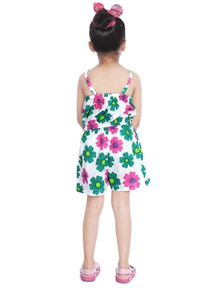 green cotton playsuit - 14387635 - Standard Image - 3