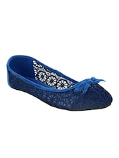 blue fabric flat -  online shopping for flats