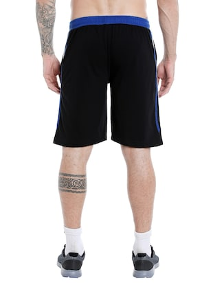 black cotton short - 14413630 - Standard Image - 3