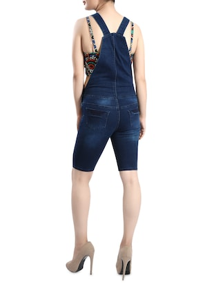 blue denim dungree - 14419478 - Standard Image - 3
