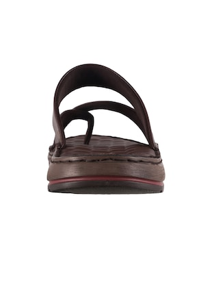 brown one toe sandal - 14422488 - Standard Image - 3