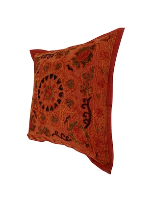 Cotton Single Rajasthani Traditional Cushion Cover By Rajrang - 14425268 - Standard Image - 3