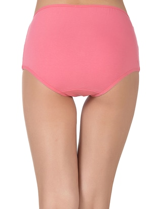 pink cotton hipster panty - 14432853 - Standard Image - 3