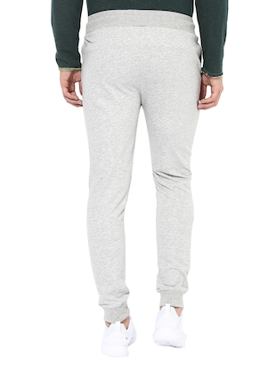 grey cotton joggers - 14433188 - Standard Image - 3