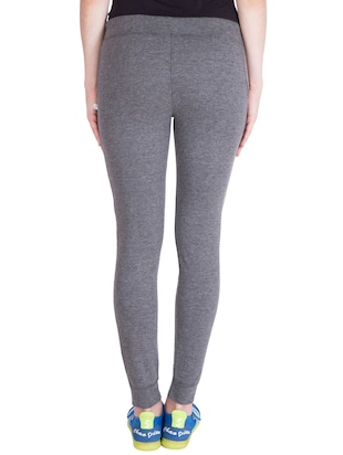 grey cotton track pants - 14436769 - Standard Image - 3
