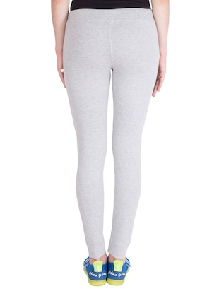 grey cotton track pants - 14436776 - Standard Image - 3