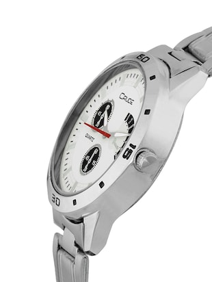 Crude Combo of 2 Stainless steel watch-rg744 for Couple - 14437216 - Standard Image - 3