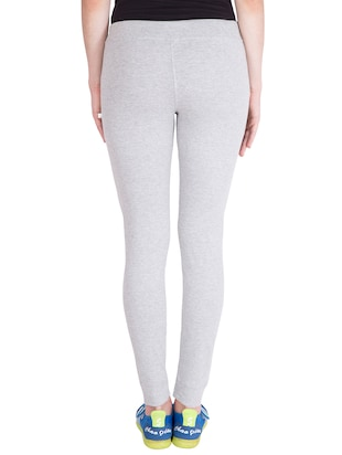 grey cotton track pants - 14439069 - Standard Image - 3