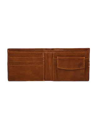 tan leather wallet - 14455461 - Standard Image - 3