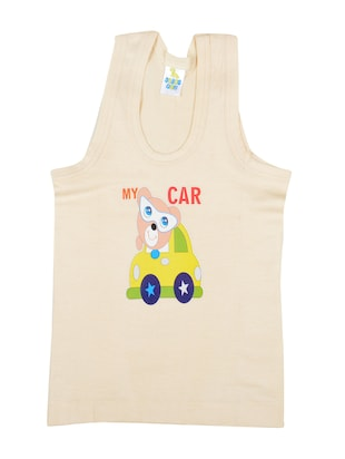 multi colored cotton vest - 14455813 - Standard Image - 3