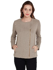 beige soft shell  jacket -  online shopping for jackets