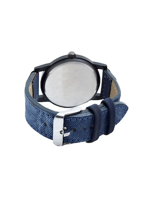 Analog Dial blue leatherette Strap Watch combo - 14458968 - Standard Image - 3