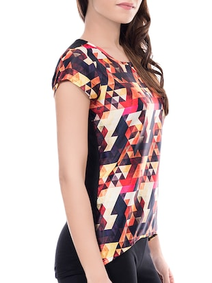 set of 2 multi colored printed top - 14466215 - Standard Image - 6