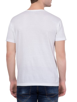 white cotton t-shirt - 14467271 - Standard Image - 3